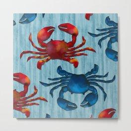 Crab! Metal Print