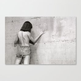 Only shades of Gray Canvas Print