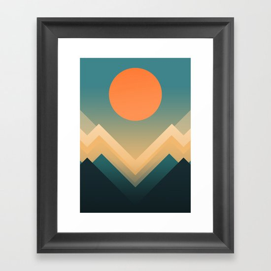 Inca Framed Art Print