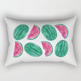 Watermelon Crowd Rectangular Pillow