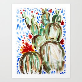 Melody Maker Plants Art Print
