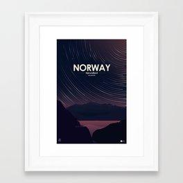Alone In Nature - Stellardrone Framed Art Print