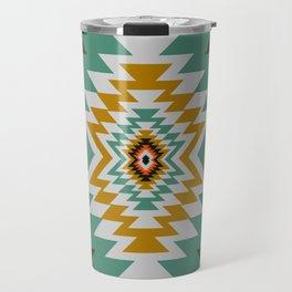 Geometric tribal decor Travel Mug