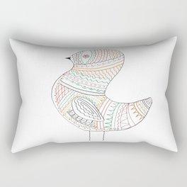 GOLDEN BIRD Rectangular Pillow