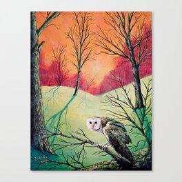 Soren: Owl of Ga' Hoole Canvas Print