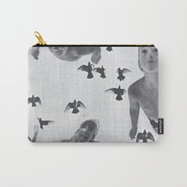 Murmuration - collage  Carry-All Pouch