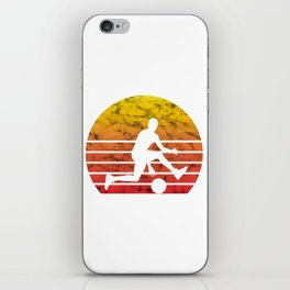 Basketball Player Fan Retro Vintage Love Gift iPhone Skin