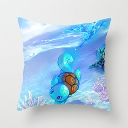 squirtle Throw Pillow