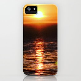San Pedro Golden Sunset iPhone Case