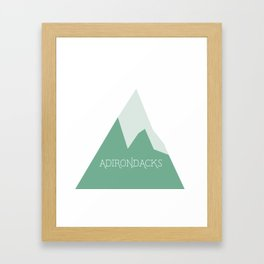 US Mountains - Adirondacks Framed Art Print