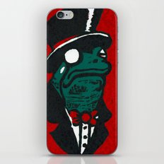 Duke Croakington iPhone & iPod Skin