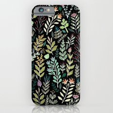 Dark Botanic Slim Case iPhone 6