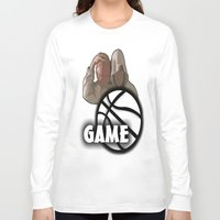 game of thrones Long Sleeve T-shirts featuring GAME  by Robleedesigns