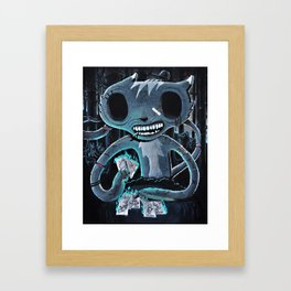 Ghetto woods Framed Art Print