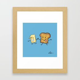 Kaya Toast Framed Art Print