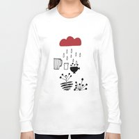 calendar Long Sleeve T-shirts featuring CALENDAR 2014 by Maruša Novak