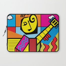 The musician and fruits Laptop Sleeve