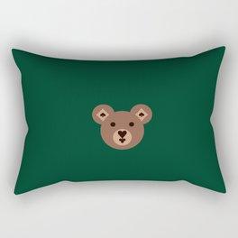 Card Suit Bear Rectangular Pillow