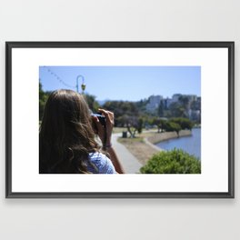 Avid Photographer Framed Art Print