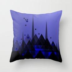 BLACK PEAKS  Throw Pillow