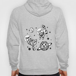 Kitty Cats Flying in Space - Kittens Hoody