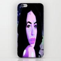 aaliyah iPhone & iPod Skins featuring Aaliyah by UnifiedGlory