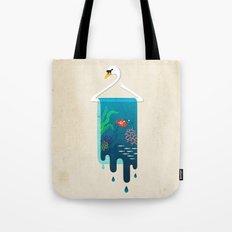 Swan Hanger Tote Bag