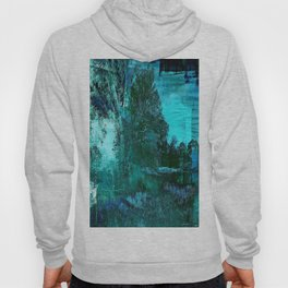 Painted Canvas Hoody