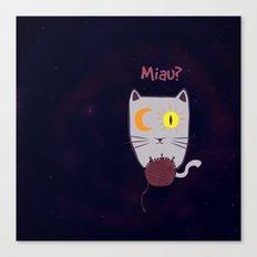Miau? Canvas Print