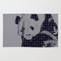 brand new Area & Throw Rugs featuring New Brand Panda by Tobe Fonseca