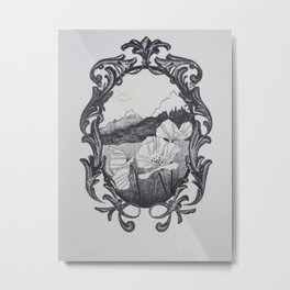 Romanticized Metal Print