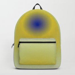Yellow sphere Backpack