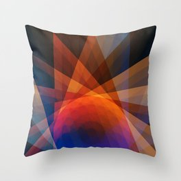 A Receptive Mind is Connected Throw Pillow