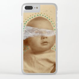 Madeo (Mother) Clear iPhone Case