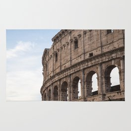 Rome's Colosseum After Sunrise Rug