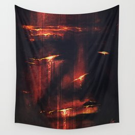 Red I Wall Tapestry
