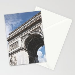 France Photography - Arc De Triomphe Stationery Cards