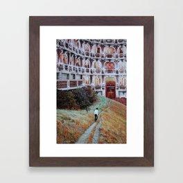 All Is Dream Framed Art Print