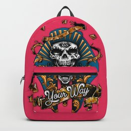 Calavera Egipcia Backpack