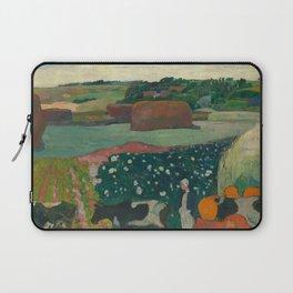 Haystacks in Brittany Laptop Sleeve