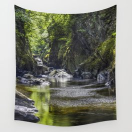 Magical Fairy Glen Wall Tapestry