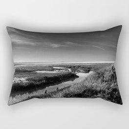 PATHLESS BLUE Rectangular Pillow