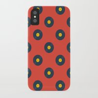 vinyl iPhone & iPod Cases featuring Vinyl by Wallpaper Disco