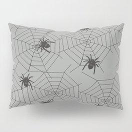 Hallween Spider web Pillow Sham