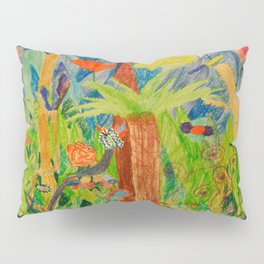 Paradise Delight | Kids Painting by Elisavet Pillow Sham