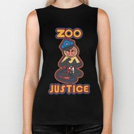 zoo justice Biker Tank