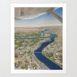 Tsceminicum Flight Art Print