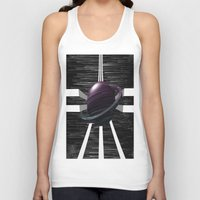 saturn Tank Tops featuring Saturn by Isaak_Rodriguez
