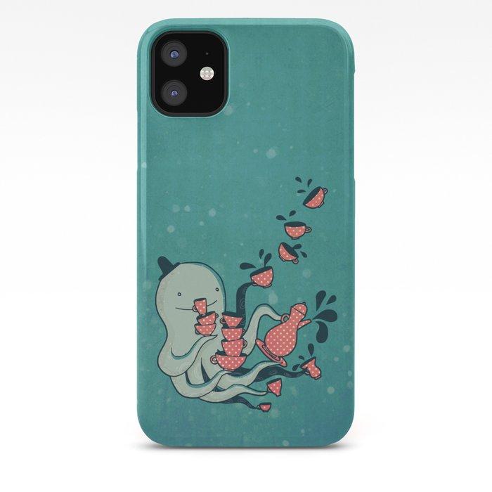 Tea Mermaid iPhone 11 case