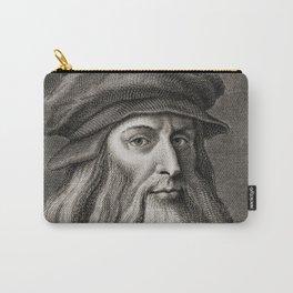 Leonardo da Vinci Carry-All Pouch